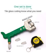 Glass Knife Household Tile Cutting Knife Manual Multi-Function Tool Diamond Thick Tile Opening Artifact