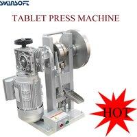 Swansoft novo 3 t pressão única máquina de carimbo manual elétrico chinês ervas pó leite em pó tablet imprensa