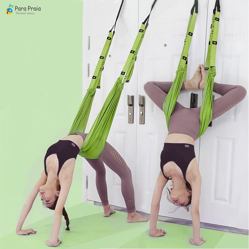 Para Praia Flexibility Stretching Yoga Belt Hammock Swing Dance Gymnastics Training Unmissable Fitness Equipment Home Gym