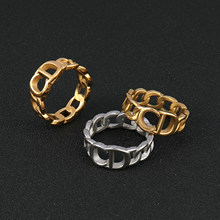 Stainless Steel Rings For Women Hiphop Punk Ring Fashion Finger Women's Rings Gold Ring Rings Jewelry