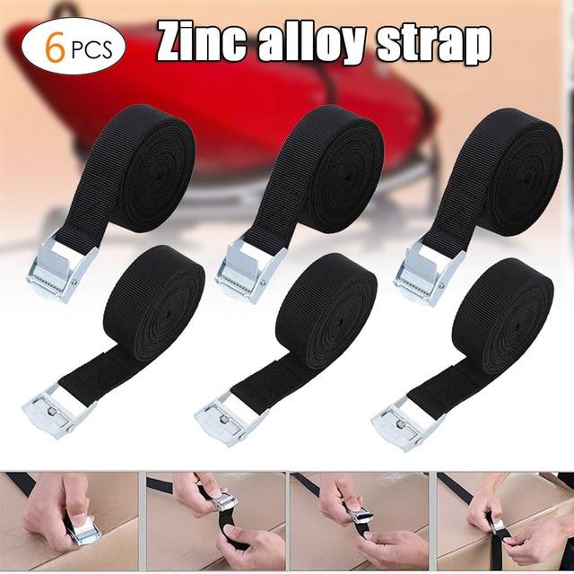 6pcs tie down straps fastening strap heavy duty nylon lashing фотография