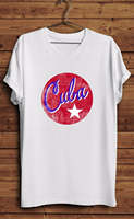 Cuba Shirt T Cuban Country Pride Republic Havana Cigar Star High Quality