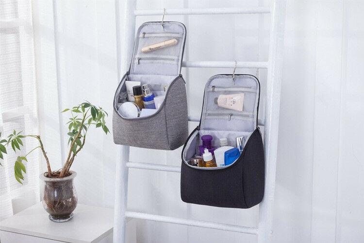 Travel Multifunction Cosmetic Makeup Bag Toiletry Organizer Storage Case