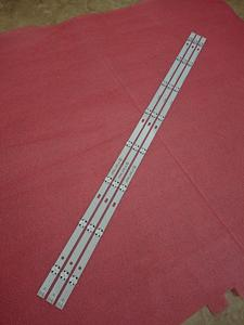 Image 4 - 15pcs/lot LED backlight strip for LG UF64_UHD_A 43LH60_FHD_A Type 43LH604V 43UF6407 43LH604V 43UF6400 43UF640V 43UF6030