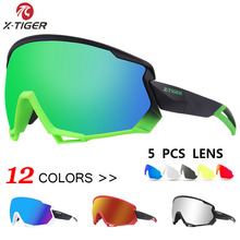 X-TIGER Wind Cycling Glasses Polarized Outdoor Sports Bicycle Glasses MTB Bike