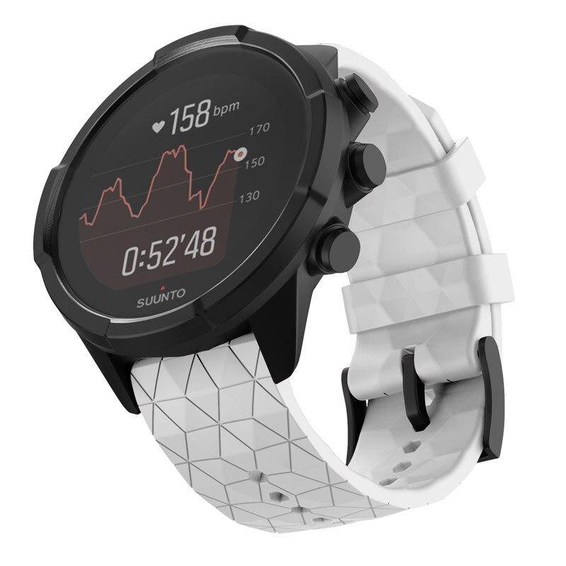 Pulseira de Relógio Substituição para Suunto Inteligente Pulseira Silicone Baro Cobre Lhb99 9