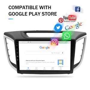 "Image 3 - Android10.0 Car Stereo For Hyundai ix25 Creta 2014 2018 Car DVD Player 9"" IPS Screen 2 Din Video GPS Navigation Radio Multimedia"