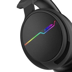 Image 4 - Gamingหูฟัง7.1 Over EarหูฟังหูฟังUSBพร้อมไมโครโฟนเบสสเตอริโอคอมพิวเตอร์แล็ปท็อปยี่ห้อXiberia V20