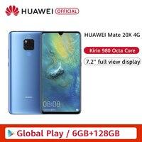 Original HUAWEI Mate 20 X 4G Smartphone 7.2 2240x1080 Mate20X 6GB 128GB 40.0MP Leica triple lens IP53 Kirin 980 Android