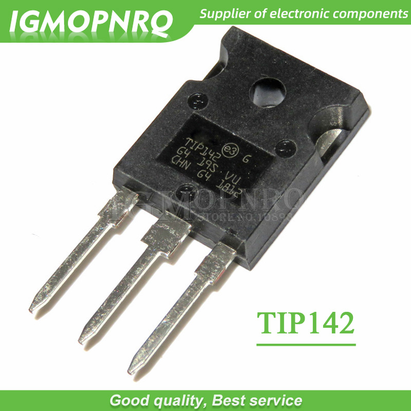 2 X TIP142 NPN  Transistor