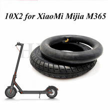 10x2 Inner Tube Outer Tyre 10*2 (54-156) Pneumatic Tire for Xiaomi Mijia M365 Electric Scooter Parts 10inch 10x2 125 electric scooter balancing hoverboard self smart balance tire 10 inch tyre with inner tube