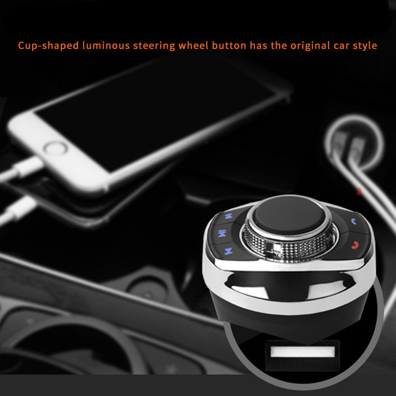 Eunavi Universal Auto Lenkrad Controller 8Key Wireless Lenkrad auto Radio Fernbedienung Tasten