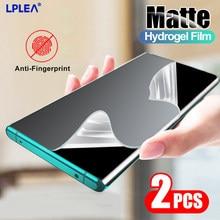 Película de hidrogel Mate para Huawei, Protector de pantalla Mate 20 Lite 30 10 P Smart Z 2019 2018, sin cristal