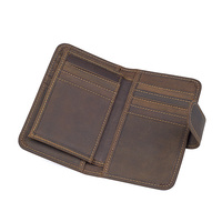 Men Wallet genuine leather mini credit card wallet purse card holders