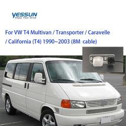 Yessun dla volkswagena VW T4 Multivan Transporter Caravelle biznes HD CCD Parking samochodowy kamera cofania widok z tyłu w Kamery pojazdowe od Samochody i motocykle na