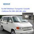 Yessun камера заднего вида для Volkswagen VW T4 Multivan Transporter Caravelle бизнес HD CCD парковочная камера заднего вида