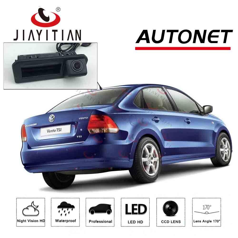 JIAYITIAN Car Trunk Handle Camera For VW Polo/vw Vento Sedan 2016 Facelift 2017 2018 Rear View Reversing Parking Backup Camera
