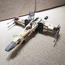 05145 81090 série x-wing starfighters blocos de construção tijolos brinquedos modelo para crianças presentes de natal