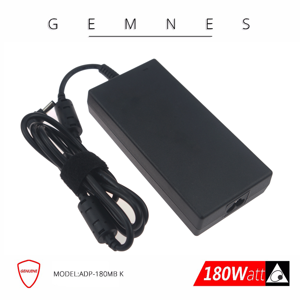 New Delta 180W Laptop Charger Power Adapter for MSI GE72VR GS63VR WS63VR GS73VR GS43VR GT60 GT70  ADP-180MB K