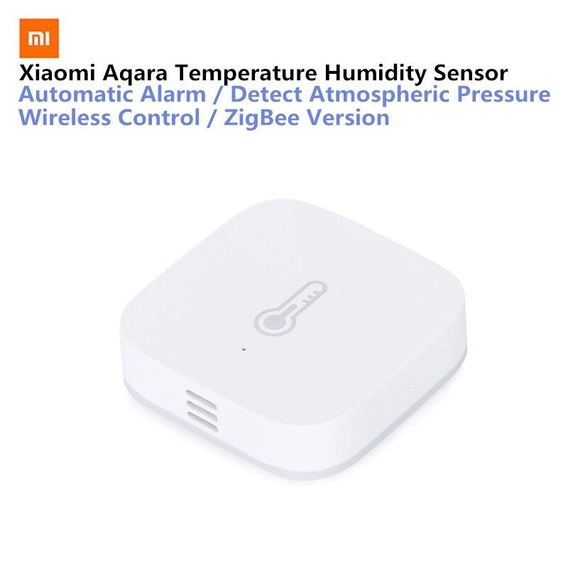 Original AQara Smart Temperature Humidity Sensor ZigBee Wifi Wireless Work With Xiaomi Smart Home Mijia Mi Home App