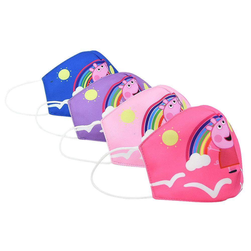 PeppaPig Kids Adult Mouth Face Masks Cartoon Washable Dustproof Face Mask Keep Clean Children Cosplay Toys Anime Mouth Masks