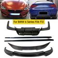 Карбоновый передний бампер для губ задний бампер диффузор боковые юбки спойлер Подходит для BMW M6 F06 F12 F13 640i 650i 2013-2018