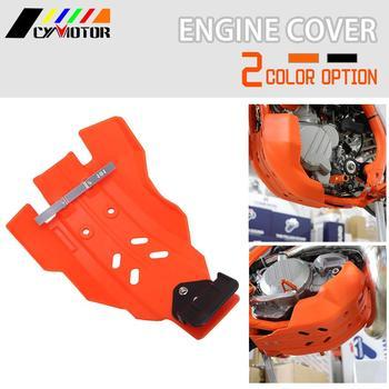 Cubierta protectora para motocicleta KTM 250 EXC 300 EXC250 EXC300, placa de deslizamiento 2 T, cubierta protectora para motor 2017 2018 2019 2020 2 trokes