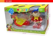 Noddy mit skateboard super nette kunststoff spielzeug puppe cartoon Noddy roller junge mit Box figur spielzeug 10cm