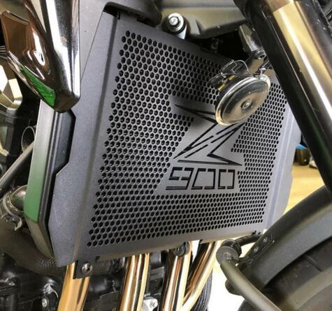 For Kawasaki Z900 Water Tank Network Refitted Water Tank Protection Network Stainless Steel Radiator Cover