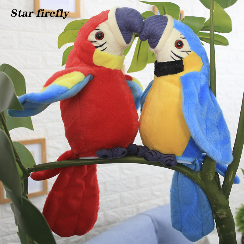 Electronic Pets Talking Parrot Toys Plush Parrot Funny Sound Record Educational Toys Christmas Gift For Kids Children Electronic Plush Toys Aliexpress