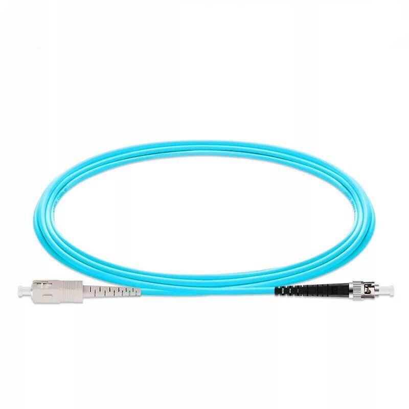 5PCS/lot SC/UPC -ST/UPC OM3 Fiber Optic Patch Cord 10G 50/125 Fiber Cable Multimode Simplex Optical Jumper