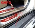 Автомобильный Стайлинг для Nissan X-Trail T32 2018 2017 2015  накладки на пороги  накладка  защита для педали  автомобильные наклейки  аксессуары