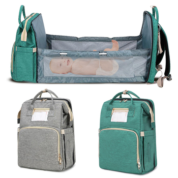 Portable Bassinet For Baby Foldable Baby Bed Sleeping Bag Travel Indoor Bed Backpack Bed Breathable Infant Sleeping Basket