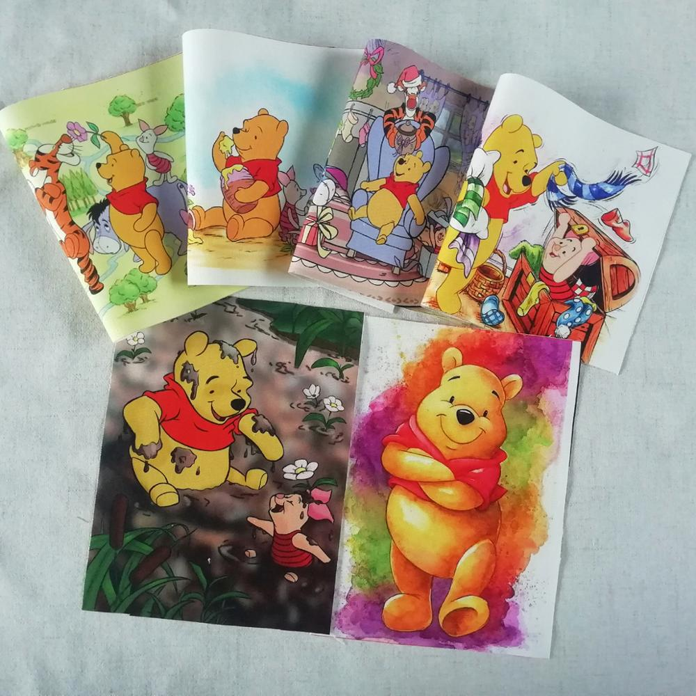 Bear Painting designs patchwork for sewing decoration Positioning cloth decoration on wall(China)