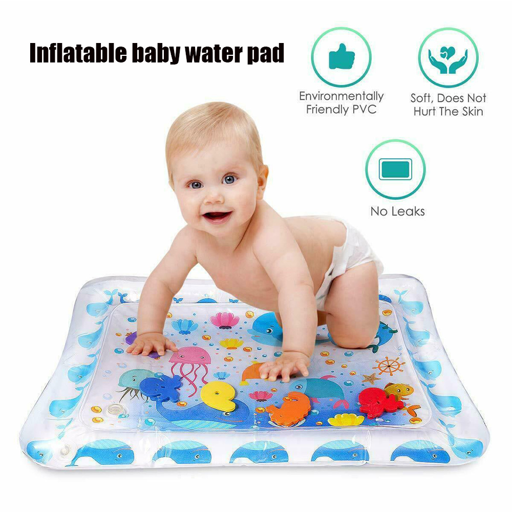 Creative Water Mat Baby Inflatable Patted Pad Baby Inflatable Water Cushion Infant Play Mat Toddler Funny Pat Pad Toys