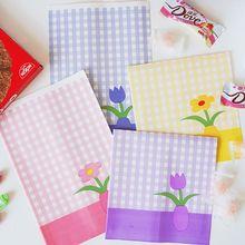 Bag Desk-Organizer School-Stationery Paper-Storage-Bag Makeup Sharkbang 20pcs/Lot Flower-Pens
