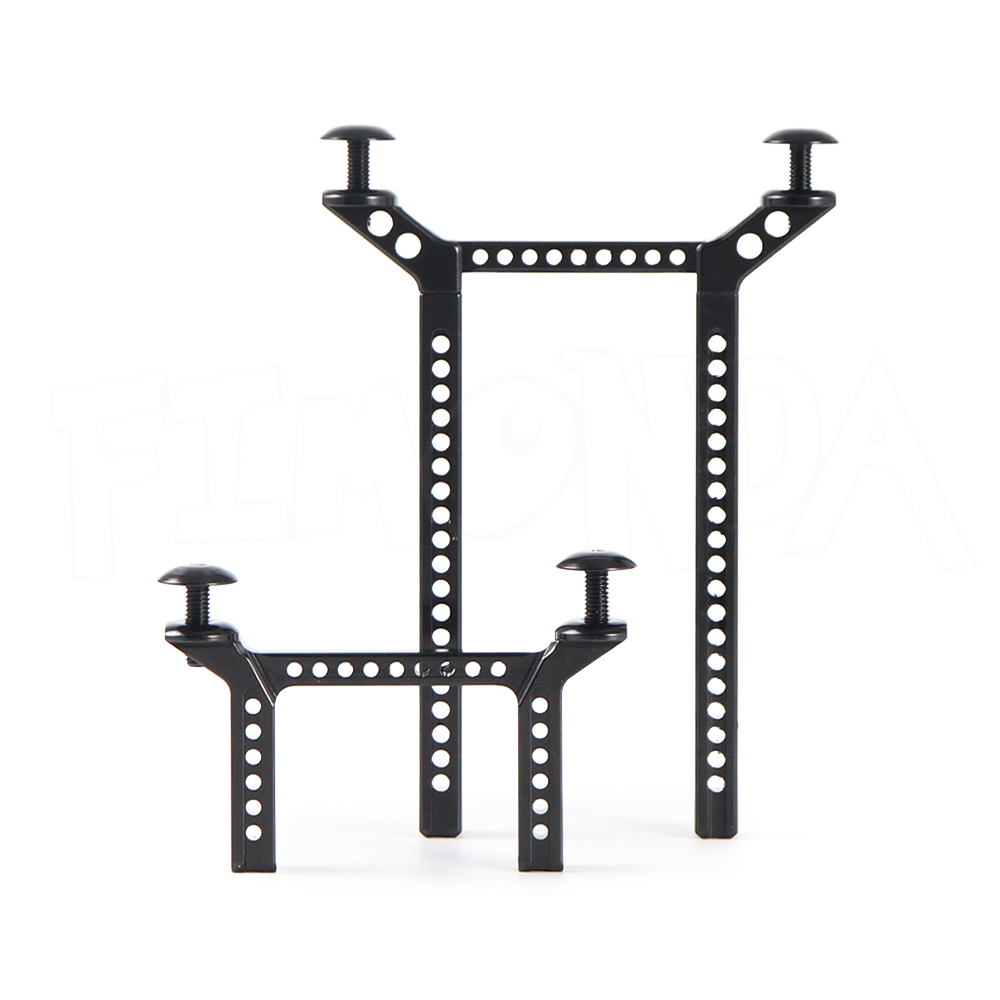Image 3 - TRX 4 Aluminum Alloy Body Posts Mounts for 1/10 RC Crawler Car Traxxas TRX4 Body Upgrade PartsParts & Accessories   -