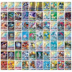 2020 Hot Sale Tomy 300 Pcs Pokemon Cards GX Tag Team 20 60 100pcs Shining Card Mega Vmax Battle Trading Game Carte Kids Toys