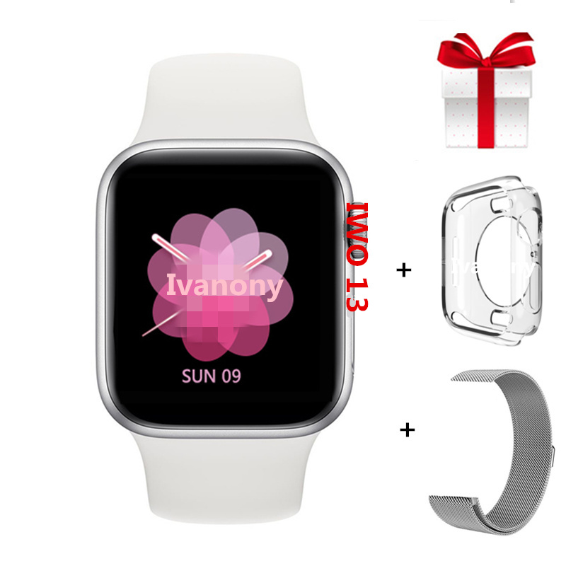 Smartwatch IWO 13 <font><b>Series</b></font> <font><b>5</b></font> IWO13 Smart <font><b>Watch</b></font> 40MM <font><b>44MM</b></font> For <font><b>Apple</b></font> IOS Android phone SIRI Heart Rate ECG Music Player PK IWO 11 8 image