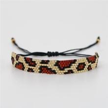 Go2boho Leopard Bracelets Women Perles MIYUKI Beads Bracelet Pulseras Mujer Moda 2019 Jewelry Handmade Armband miyuki joyeria