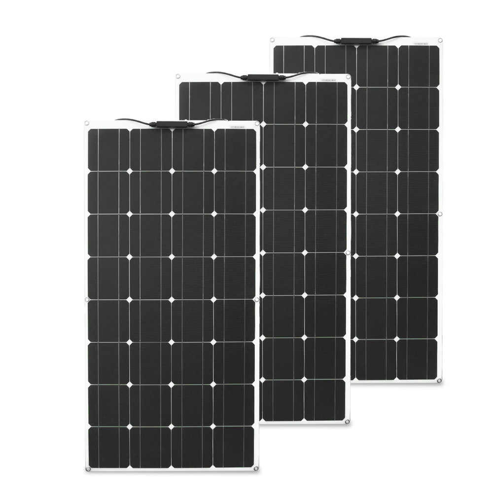 12v 200w 300w solar panel 1000w batterie ladegerät flexible panel solar für solar power system