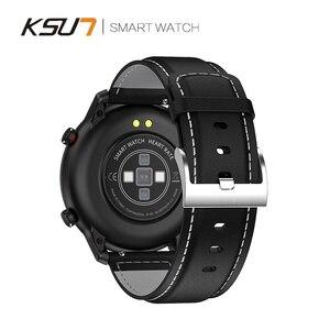 Image 5 - KSR914 חכם שעון גשש כושר גברים נשים Smartwatch לביש התקני חכם להקת קצב לב לפקח ECG זיהוי חכם בראק