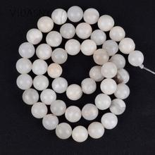 White Crazy Agates Natural Spacer Stone Beads For Jewelry Making Diy Bracelet Necklace 4/6/8/10/12mm Round Loose Beads 15inch цена