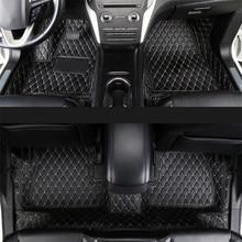 lsrtw2017 car styling luxury fiber leather interior floor mat for lincoln mkc 2014 2015 2016 2017 2018 2019