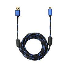 Für PlayStation 4 Controller Für Xbox Ein Griff Schnelle Lade Kabel 3M Micro USB Kabel Neue