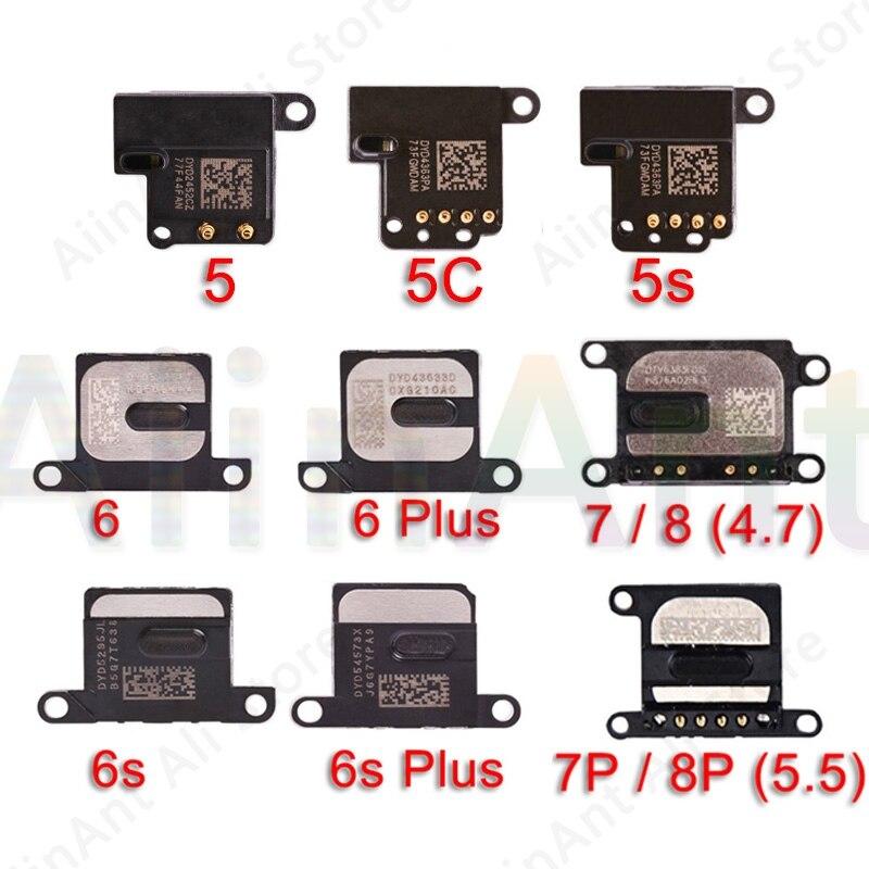 Original Earpiece Flex For IPhone 6 6s 7 8 Plus 5 5s 5c SE Earpiece Ear Sound Speaker Flex Cable Repair Parts