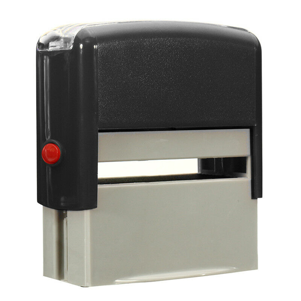 Business School Accounts Name Address Post etc CUSTOMISED SELF INK RUBBER STAMP