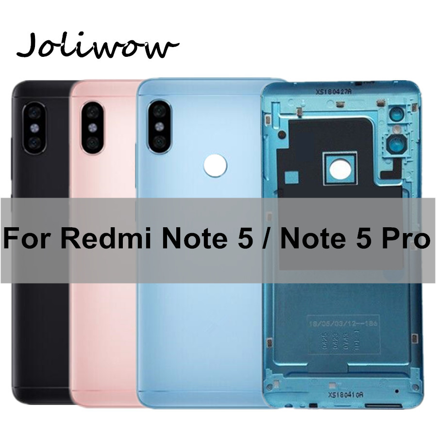 For Xiaomi <font><b>Redmi</b></font> <font><b>Note</b></font> <font><b>5</b></font> <font><b>Pro</b></font> <font><b>Battery</b></font> <font><b>Cover</b></font> Case Housing+Side Buttons+Sim Card Slot for <font><b>Redmi</b></font> <font><b>Note</b></font> <font><b>5</b></font> <font><b>Pro</b></font> Note5 <font><b>Battery</b></font> Back <font><b>Cover</b></font> image