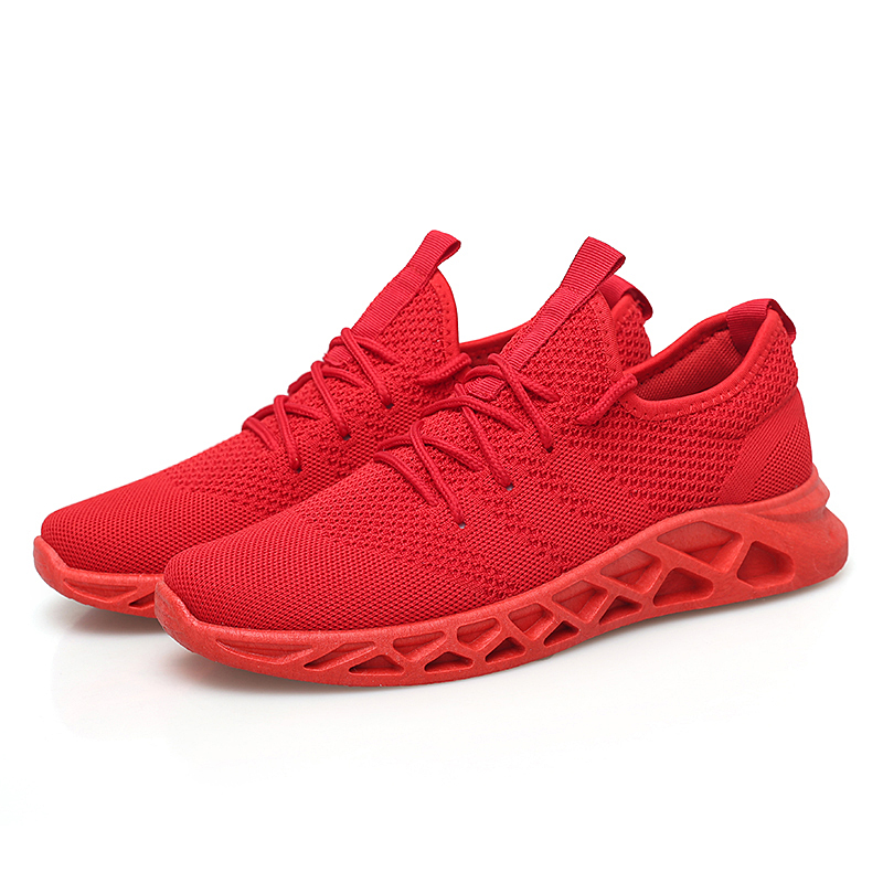 Buy Men's sneakers comfortable casual shoes breathable Sapato Masculino lightweight running shoes jogging shoes fashion tide shoes