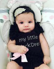 Боди для маленьких девочек; Комбинезоны новорожденных; Платье